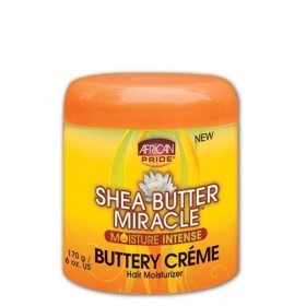 African Pride Crème capillaire au beurre de karité 170g (Buttery)