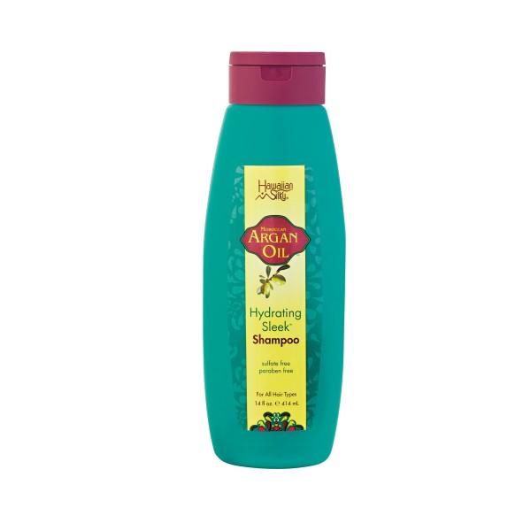 Hawaiian Silky Shampooing huile d'Argan 414ml (Hydrating Sleek)