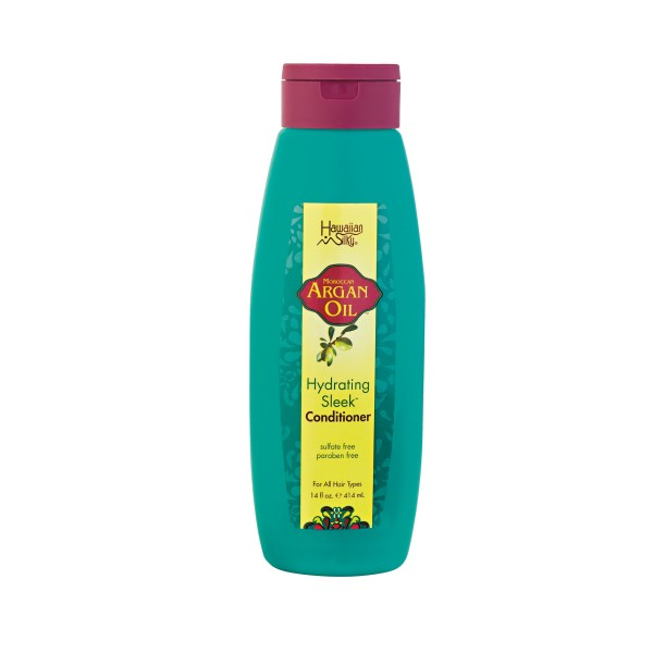 Hawaiian Silky Après-shampooing Argan 414ml (Hydrating Sleek)