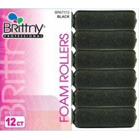 Brittny Rouleaux à bigoudis en mousse Medium (x12)