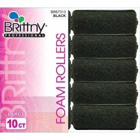 Brittny Rouleaux à bigoudis en mousse Large (x10)