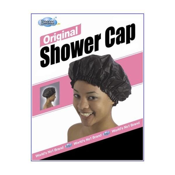 DREAM Bonnet de douche Original Noir (Shower Cap)