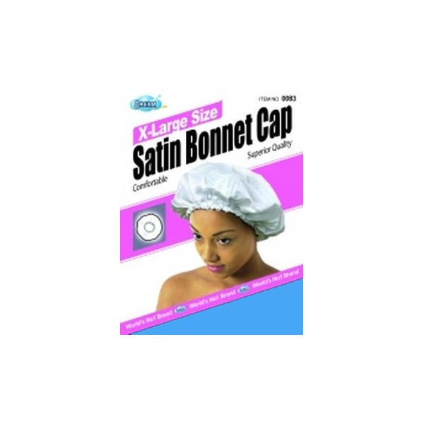 DREAM Bonnet en satin pour cheveux Coloris assortis XL
