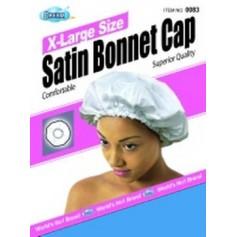Bonnet en satin pour cheveux Coloris assortis XL DRE083