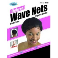 Bonnet filet extensible DRE122 (Wave Net) x2