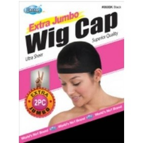 "DREAM Bonnet perruque ""Extra Jumbo Wig Cap"" x2"