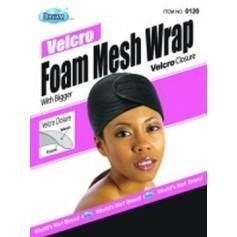 Bonnet velcro mousse et maille DRE120 (Foam Mesh Wrap)