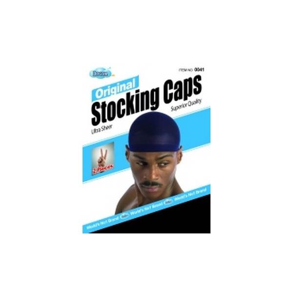 DREAM Bonnet Homme original (Stocking cap) x2 noir