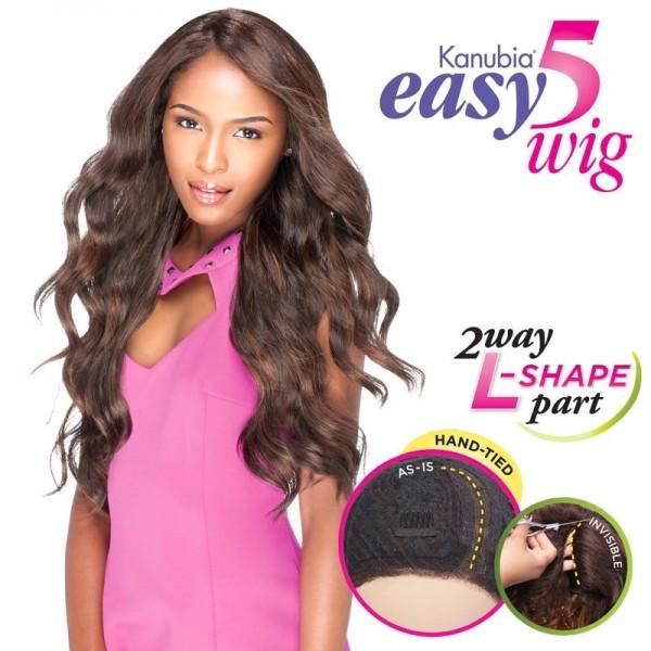 SENSAS perruque Easy 5 LOOSE (L Part Lace)