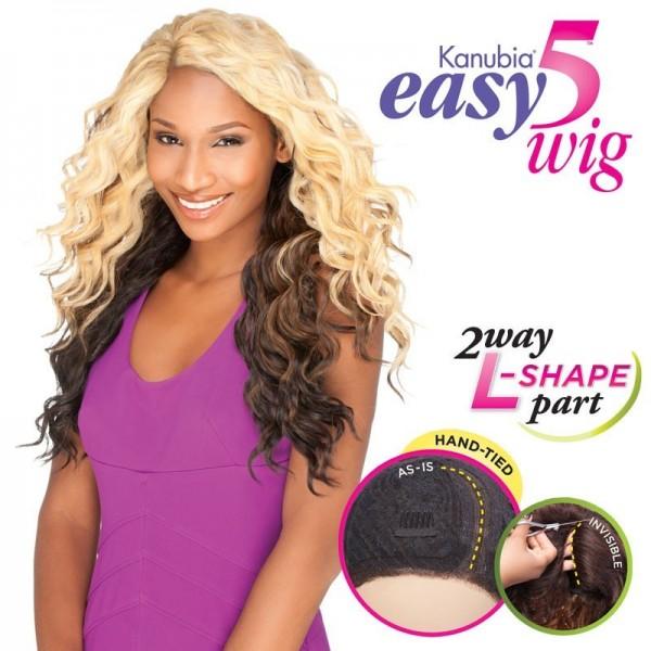 SENSAS perruque Easy 5 FINGER (L Part Lace)