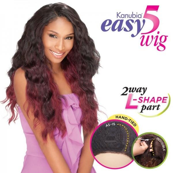 SENSAS perruque Easy 5 SOUL (L Part Lace)