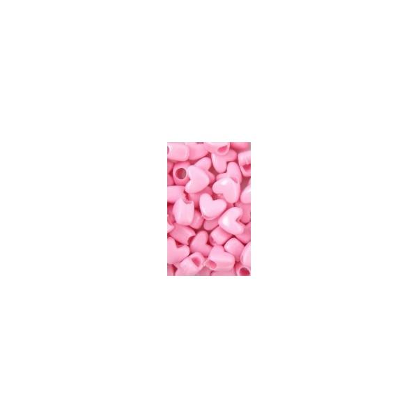 Chloe Perles plastiques en coeur x120 LP