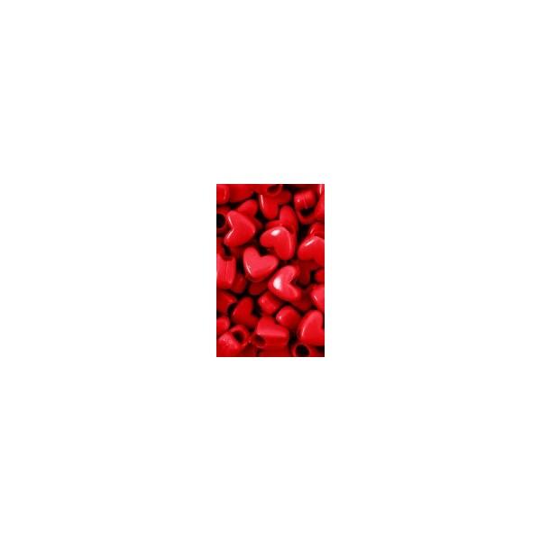 Chloe Perles plastiques en coeur x120 RD
