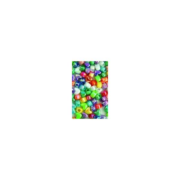 Chloe Perles plastiques en coeur x120 SAB