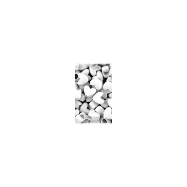 Chloe Perles plastiques en coeur x120 W