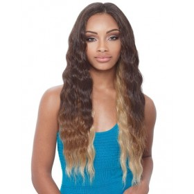 NOIR tissage BRAZILIAN LOOSE WAVE 6pcs