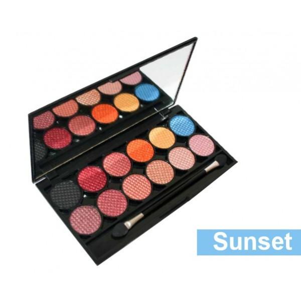 Palette de Maquillage I-DIVINE 12 fards à paupières *SUNSET*