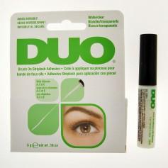 Colle pinceau transparente pour faux cils DUO 5g