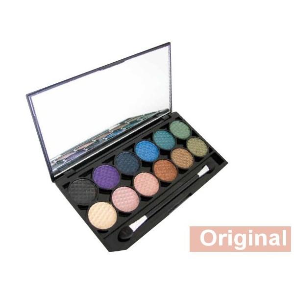 Palette de Maquillage I-DIVINE 12 fards à paupières *ORIGINAL*
