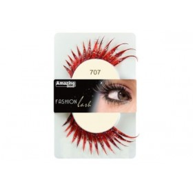 Amazing Shine Faux cils Fashion Rouge dramatique 704