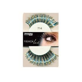 Amazing Shine False Lashes Fashion Metallic Blue 714