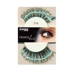 Faux cils Fashion Bleu métallique 714