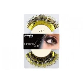 Amazing Shine Faux cils Fashion Or métallique 717