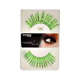 Amazing Shine False Lashes Fashion Metallic Green mix 723