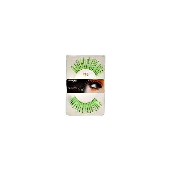 Amazing Shine Faux cils Fashion Vert métallique mix 723