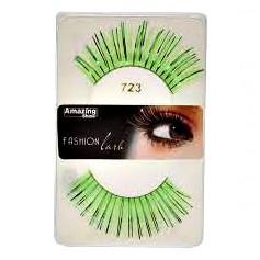 Faux cils Fashion Vert métallique mix 723