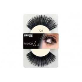 Amazing Shine Faux cils Fashion Noir métallique mix 724