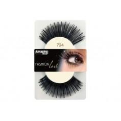 Faux cils Fashion Noir métallique mix 724