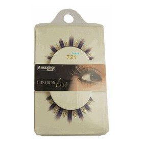 Amazing Shine Faux cils Fashion Bleu shine 721