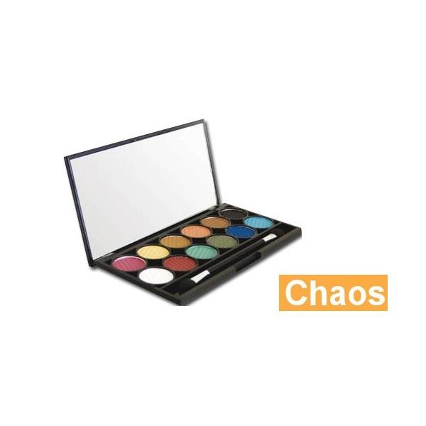 Palette de Maquillage I-DIVINE 12 fards à paupières *CHAOS*