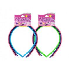 Serre-têtes Neon coloris assortis x3