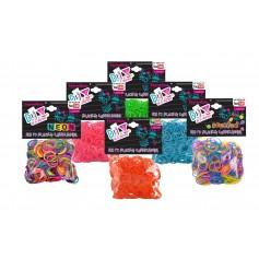 Mini élastiques Rainbow Loom x 300 ***