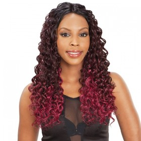 Milkyway Qué tissage Invisible Part VINTAGE CURL 4 PCS