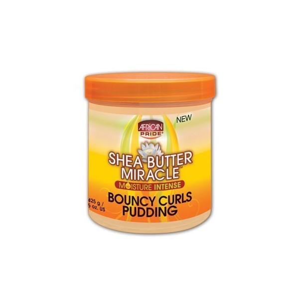 African Pride Crème activatrice de boucles karité 425g (Pudding)