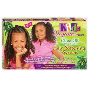 Organics for Kids Kit défrisant ultra-doux huile d'Olive (System)