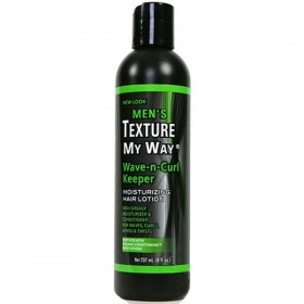 Organics by Africa's Best Moisturizing Lotion Natural Texture 237ml ( Wave-n-Curl)