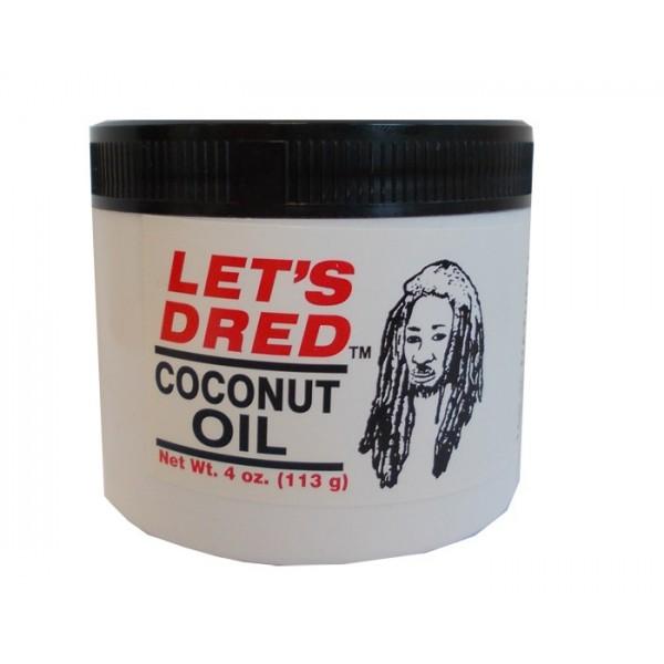 LETS DRED Pommade huile de coco pour Locks 113g (Coconut)