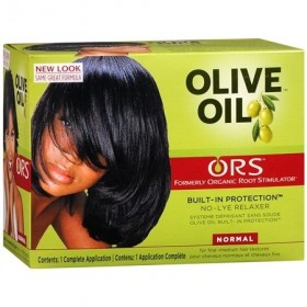Organic Root Kit défrisant à l'huile d'olive (formule Normale)