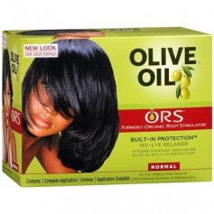 Kit défrisant à l'huile d'olive (formule Normale)