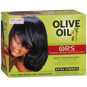 Organic Root Stimulator Kit relaxer with olive oil (Super formula)