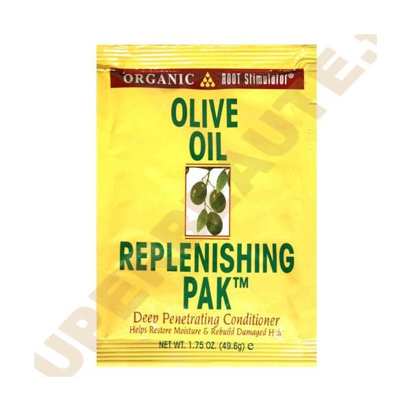 """Soin beauté minute """"replenish pak"""" à l'huile d'olive 49.6g"""