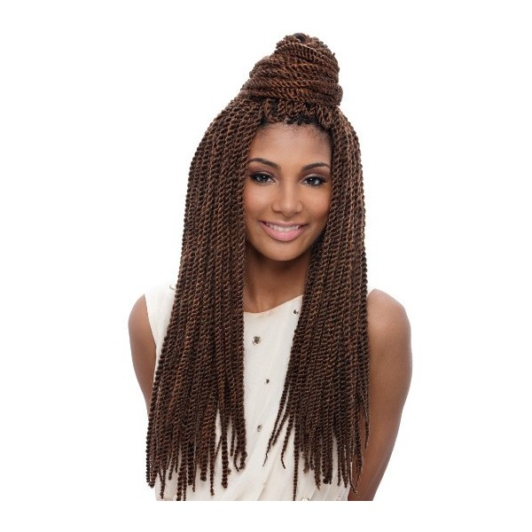 Janet natte Tantalizing Twist Braid 19""