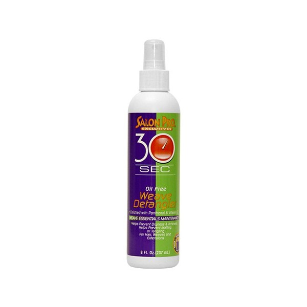 Salon Pro Spray démêlant pour tissage 237ml [30sec]