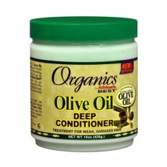 Organics by Africa's Best Après-shampooing huile d'olive 177ml (Olive Oil Leave-in)