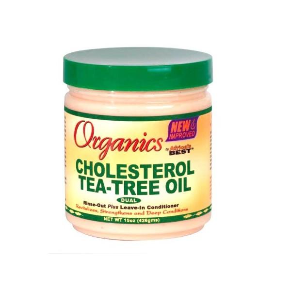 Organics by Africa's Best Masque revitalisant Cholesterol 426g (Tea-Tree Oil)
