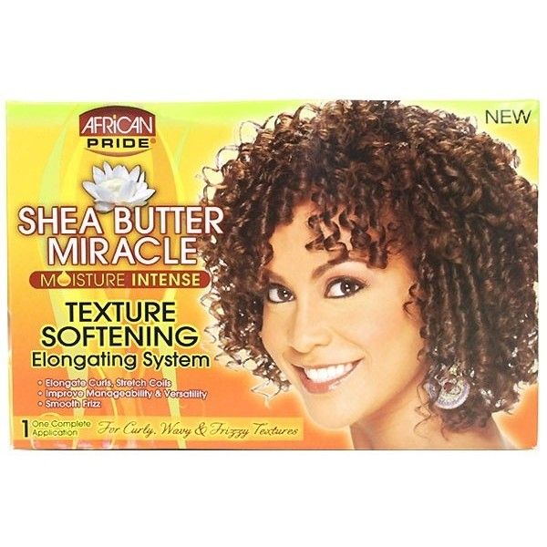 Shea Butter Miracle Kit texturizer boucles adoucissant (Texture)